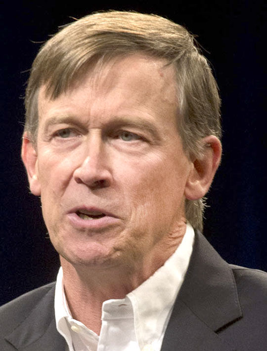 Piture of Colorado Governor John Hickenlooper