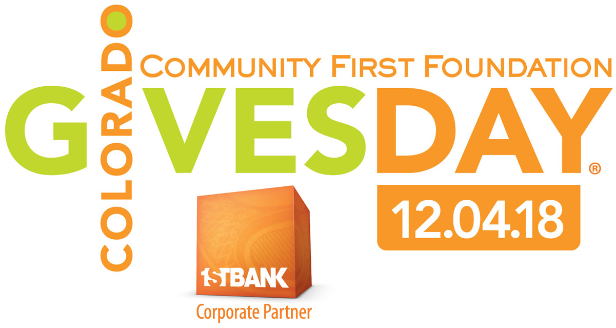 Community First Foundation - Colorado Gives Day, 12.04.18. First Bank, Corporate Partner