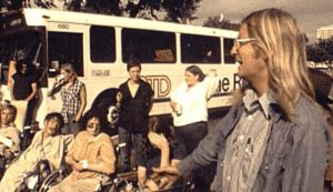 Picture of Wade Blank and a group of the Original ADAPT Activist from the 'Gang of 19'