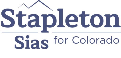 "Walker Stapleton's Campaign Logo, it reads: ""Stapleton Sias for Colorado"""