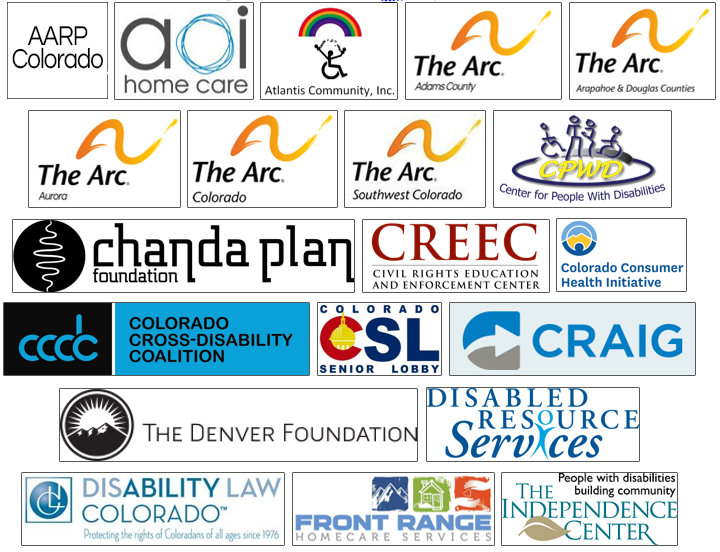 Logos for the organizations listed above.