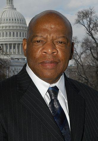 Image of Congressman John Robert Lewis, official Congressional photo.