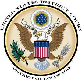 United States District Court. District of Colorado, Official Shield or Emblem